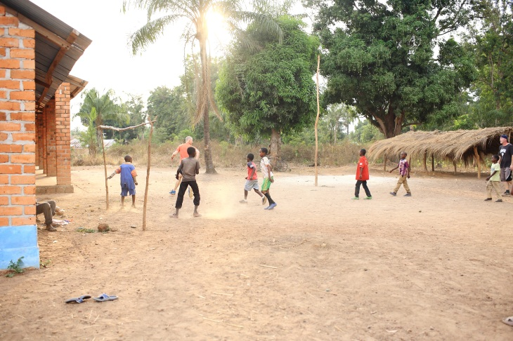 football at the mbororo camp